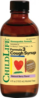 Cough Syrup 118.50 ml (gust de fructe)