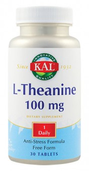 L-Theanine 100 mg. (30 tablete)