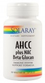 AHCC Plus Nac & Beta Glucan (30 capsule vegetale)