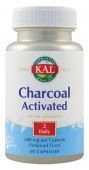 Charcoal Activated (Carbune medicinal) 280 mg. (50 capsule)