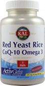 Red Yeast Rice CoQ-10 Omega 3 (60 capsule moi)