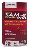 SAM-e 200 mg. (60 tablete vegetale protejate enteric)