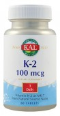 Vitamin K2 100 mg. (60 tablete)